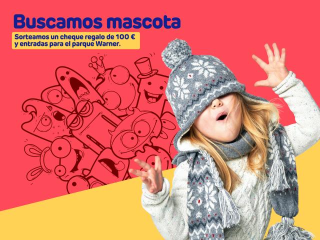 Centro Comercial Bulevar Getafe: buscamos mascota para nuestro club infantil.