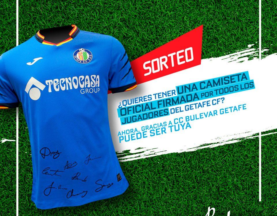 82b135723b1 Gana una camiseta firmada por todos los jugadores del Getafe C.F.